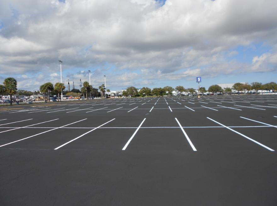 Parking Lot Projects Burton Asphalt And Services